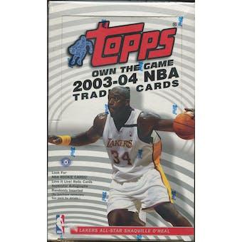 2003/04 Topps Basketball Hobby Box