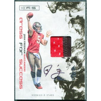 2009 Donruss Rookies and Stars Dress for Success Jerseys Prime Autographs #16 Josh Freeman 5/10