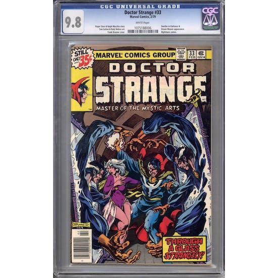 Doctor Strange #33 CGC 9.8 (W) *1075188006*