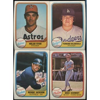 1981 Fleer Baseball Complete Set (NM-MT)