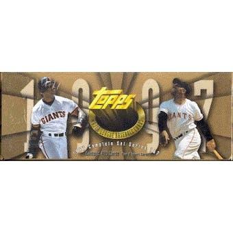 1997 Topps Baseball Hobby Factory Set (box) (Gold)