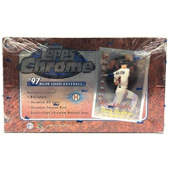 1997 Topps Chrome Baseball Hobby Box