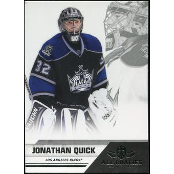 2010/11 Panini All Goalies #38 Jonathan Quick 100 Card Lot