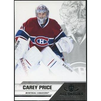 2010/11 Panini All Goalies #44 Carey Price 100 Card Lot
