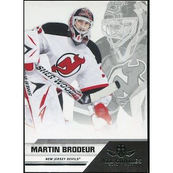 2010/11 Panini All Goalies #50 Martin Brodeur 100 Card Lot