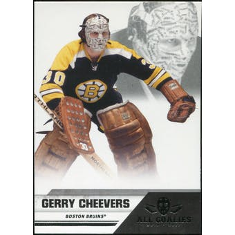 2010/11 Panini All Goalies #93 Gerry Cheevers 100 Card Lot