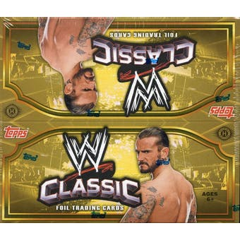 2011 Topps WWE Classic Wrestling Hobby Box