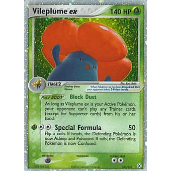 Pokemon Hidden Legends Single Vileplume ex 100/101
