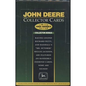 1995 Upper Deck John Deere Collector Box