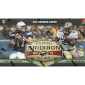 2011 Panini Gridiron Gear Football Hobby Box
