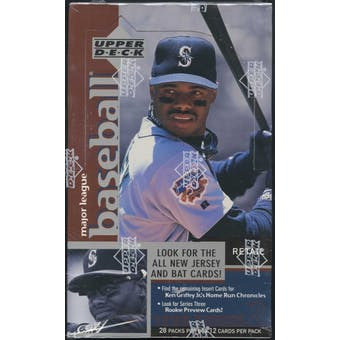 1998 Upper Deck Series 2 Baseball Retail Box