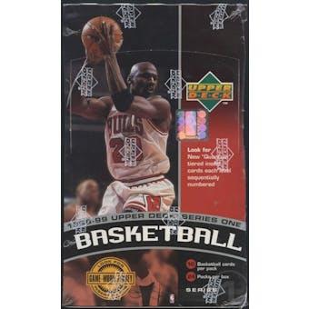 1998/99 Upper Deck Series 1 Basketball Prepriced Box