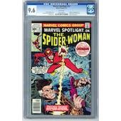 Marvel Spotlight #32 CGC 9.6 (W) *1095746001*