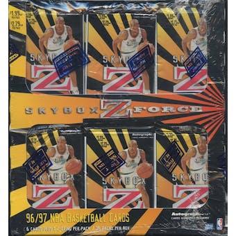 1996/97 Skybox Z-Force Series 1 Basketball Prepriced Box