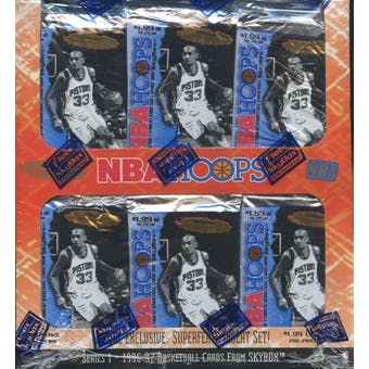 1996/97 Hoops Series 1 Basketball Retail Box