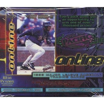 1998 Pacific Online Baseball Retail Box