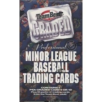 2001 Team Best Graded Baseball Hobby Box
