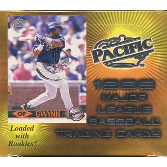 1999 Pacific Baseball 20 Pack Box