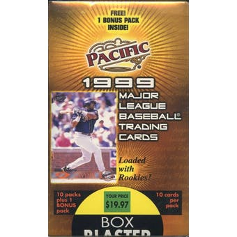 1999 Pacific Baseball Blaster Box