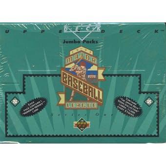 1993 Upper Deck Series 1 Baseball Retail Jumbo Box