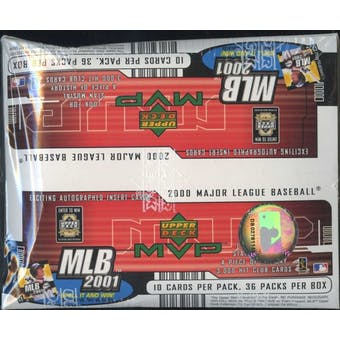 2001 Upper Deck MVP Baseball Retail Box