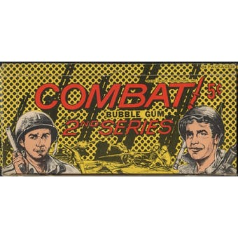 1964 Donruss Combat 2nd Series Wax Box