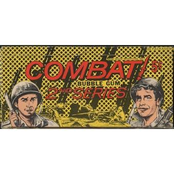 1964 Donruss Combat 2nd Series Wax Box