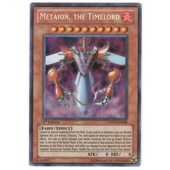 Yu-Gi-Oh Photon Shockwave Single Metaion, the Timelord Secret Rare