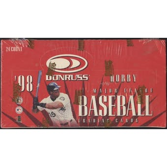 1998 Donruss Baseball Hobby Box