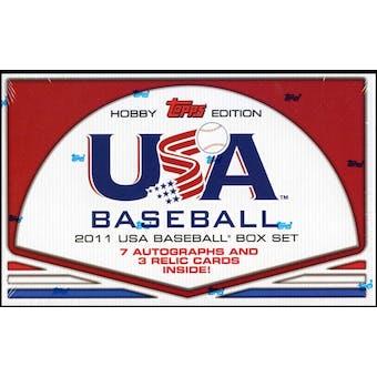 2011 Topps USA Baseball Team Factory Set (Box) (Reed Buy)