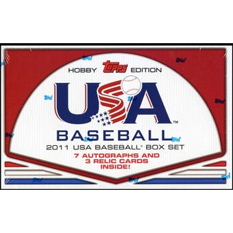 2011 Topps USA Baseball Team Factory Set (Box)