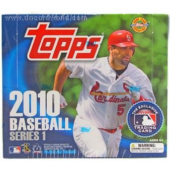 2010 Topps Series 1 Baseball Jumbo Box