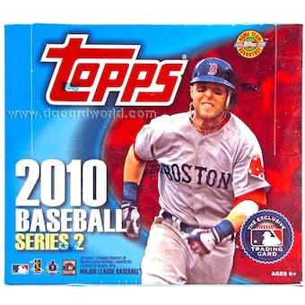 2010 Topps Series 2 Baseball Jumbo Box