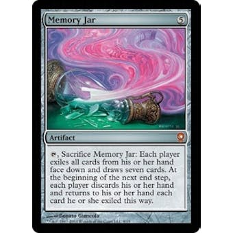 Magic the Gathering From the Vault: Relics Single Memory Jar Foil - NEAR MINT (NM)