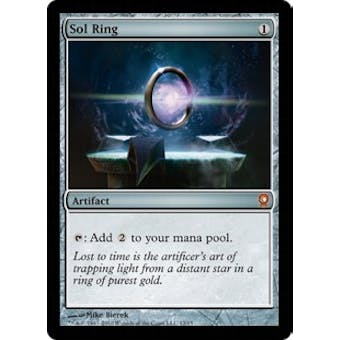 Magic the Gathering From the Vault: Relics Single Sol Ring Foil NEAR MINT (NM)