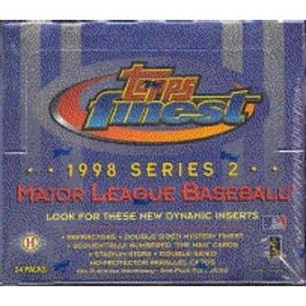 1998 Topps Finest Series 2 Baseball Hobby Box