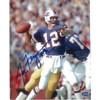 Joe Ferguson Autographed Buffalo Bills 8x10 Throwing Photo