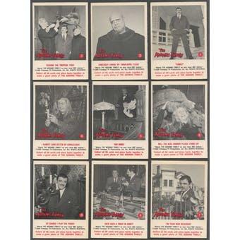 Addams Family Complete Set (1964 Donruss) (NM Condition)