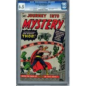 Journey Into Mystery #83 CGC 6.5 (OW-W) *1110730002*