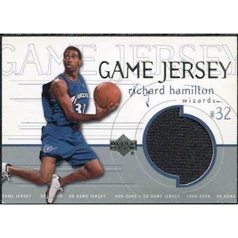 1999/00 Upper Deck Game Jerseys #GJ23 Richard Hamilton
