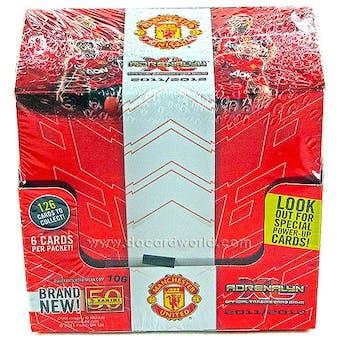 2011/12 Panini Manchester United Adrenalyn XL Soccer 50-Pack Box