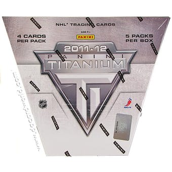 2011/12 Panini Titanium Hockey Hobby Box