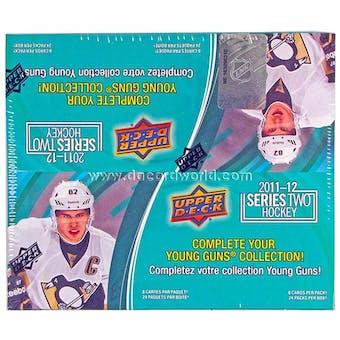 2011/12 Upper Deck Series 2 Hockey Retail 24-Pack Box