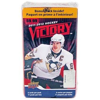 2011/12 Upper Deck Victory Hockey 11-Pack Box