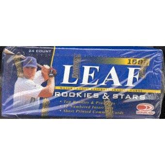 1998 Leaf Rookies & Stars Baseball Hobby Box