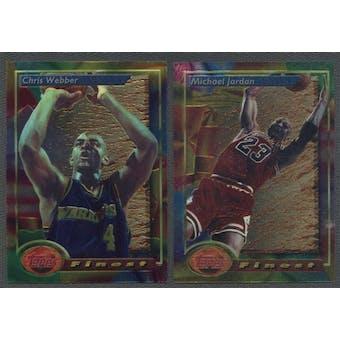 1993/94 Topps Finest Basketball Complete Set
