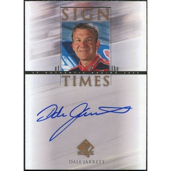 2000 Upper Deck SP Authentic Sign of the Times #DJ Dale Jarrett Autograph