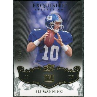 2008 Upper Deck Exquisite Collection #64 Eli Manning /75