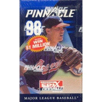 1998 Pinnacle Baseball Hobby Box