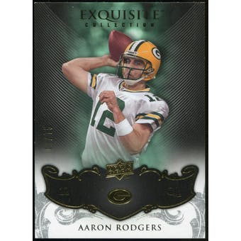 2008 Upper Deck Exquisite Collection #37 Aaron Rodgers /75